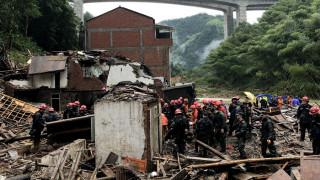 Ο τυφώνας Λεκίμα εξακολουθεί να «σαρώνει» την Κίνα - Αυξήθηκε ο αριθμός των θυμάτων