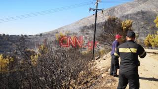 Φωτιά Υμηττός: Τι λέει στο CNN Greece κάτοικος της περιοχής