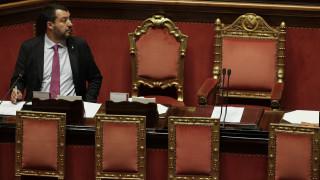 Πολιτική κρίση στην Ιταλία:Εν αναμονή της συνεδρίασης της Γερουσίας επί της πρότασης μομφής