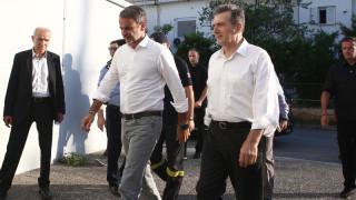 «Σε απόλυτη κινητοποιήση ο κρατικός μηχανισμός»: Ο Μητσοτάκης στο Κέντρο Επιχειρήσεων