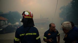 Φωτιά στην Εύβοια: Κλιμάκιο του ΣΥΡΙΖΑ στην περιοχή