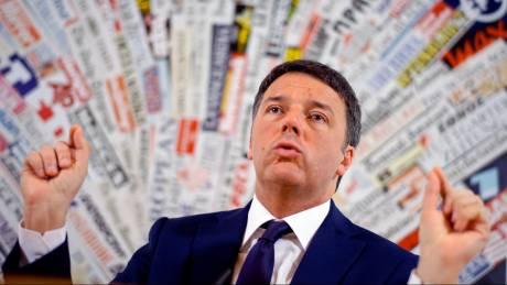 Ρέντσι: Η Ιταλία κινδυνεύει να βυθιστεί στην ύφεση σε περίπτωση πρόωρων εκλογών