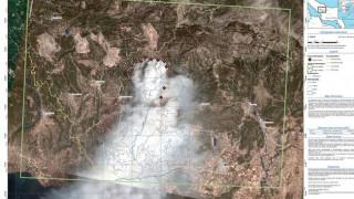 Φωτιά στην Εύβοια: Η υπηρεσία Copernicus θα χαρτογραφήσει τις καταστροφές