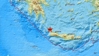 Σεισμός κοντά στα Χανιά - Αισθητός σε αρκετές περιοχές