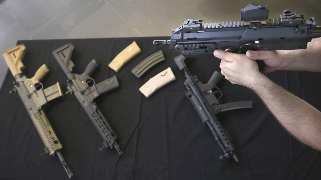 Μεξικό: Δύο εκατ. όπλα έχουν μπει παράνομα στη χώρα τα τελευταία 10 χρόνια