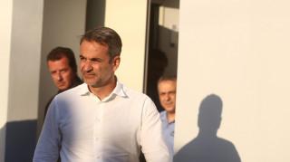 Στην Εύβοια ο Μητσοτάκης: Άμεση αποτύπωση της καταστροφής - Δεν μπορεί να υπάρχει εφησυχασμός