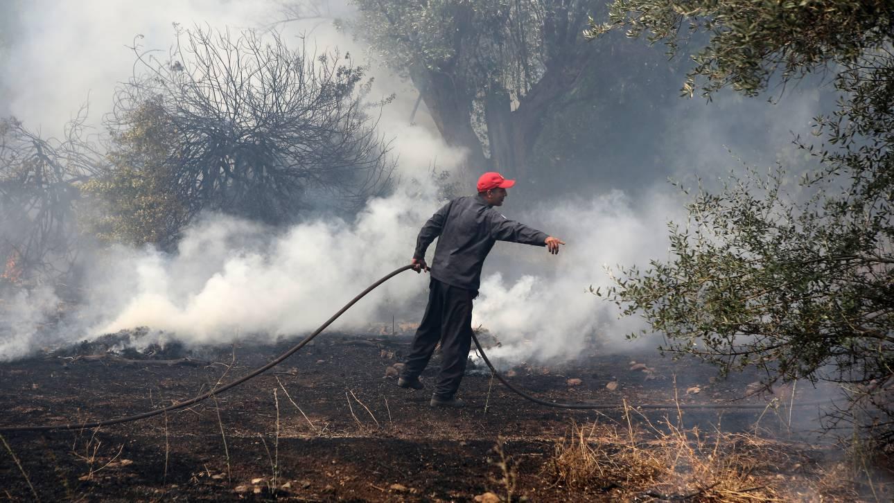 Πολύ υψηλός ο κίνδυνος για πυρκαγιά και σήμερα