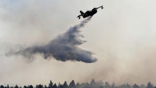 Φωτιά στην Εύβοια: Οι εναέριες «μάχες» με τις φλόγες που κατέγραψε drone της Πυροσβεστικής