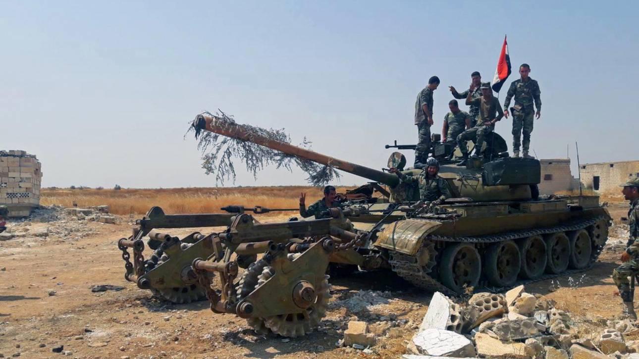 Τζιχαντιστές κατέρριψαν συριακό πολεμικό αεροσκάφος