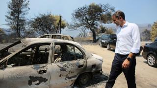 Θετικά μηνύματα από τους Ευρωπαίους για τη διαχείριση της φωτιάς στην Εύβοια