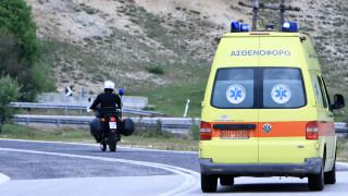 Θεσσαλονίκη: Ανατροπή αυτοκινήτου με εννέα επιβάτες - Ανάμεσά τους και παιδιά