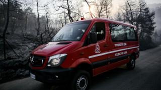 Συμπλοκή πυροσβεστών με φερόμενο ως εμπρηστή στον Πύργο