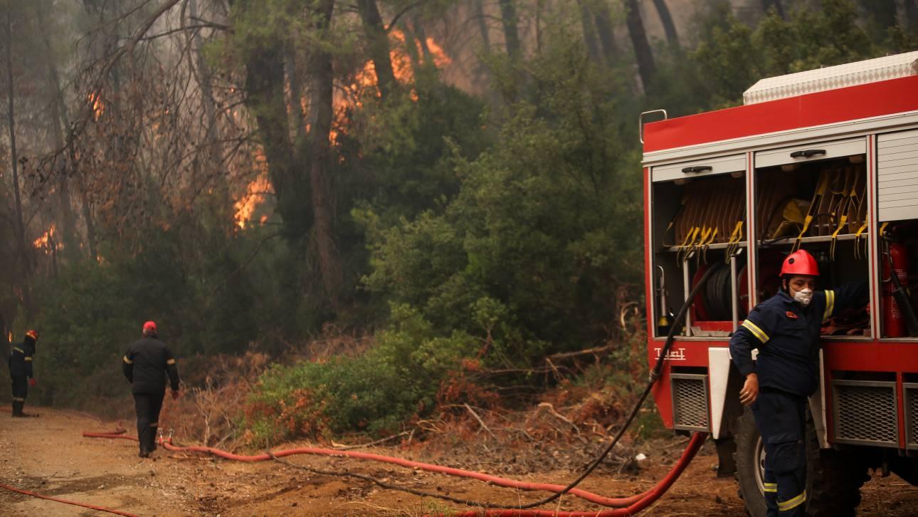 Φωτιά στην Εύβοια: Επιτυχώς χειρουργήθηκε ο εθελοντής πυροσβέστης που τραυματίστηκε