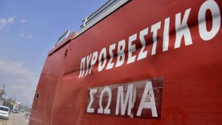 Θεσσαλονίκη: Υπό έλεγχο η φωτιά σε επιχείρηση κοντά στο αεροδρόμιο