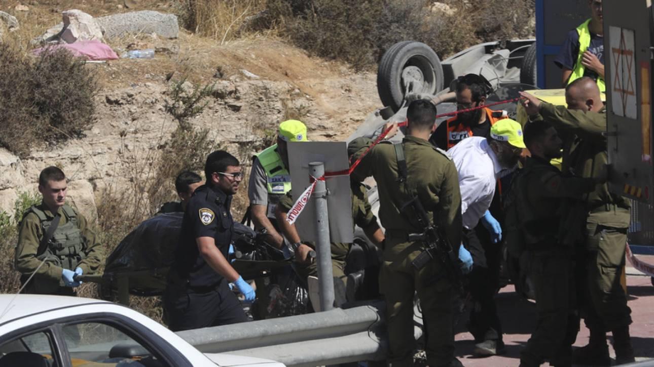 Παλαιστίνιος έριξε το αυτοκίνητό του πάνω σε Ισραηλινούς στη Δυτική Όχθη