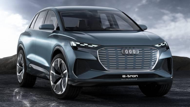 Στo νέο Audi Q4 E-Tron θα μπορεί να επιλέξει κανείς από 25 διαφορετικά σχέδια για τους προβολείς