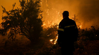 Κρήτη: Φωτιά στο Ρέθυμνο - Σε ύφεση στο μέτωπο στην Ιεράπτερα