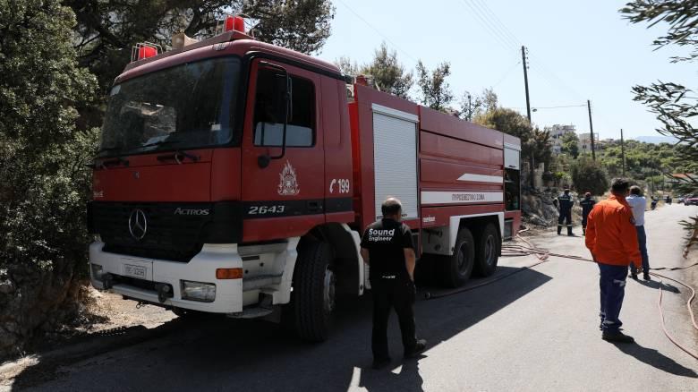 Φωτιά στη Σαλαμίνα - Εντολή εκκένωσης οικισμού
