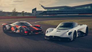 Δείτε τα hyper cars των 1.000+ ίππων της Aston Martin στην πίστα του Silverstone