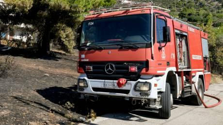 Πυρκαγιά σε δασική έκταση στο Χαϊδάρι