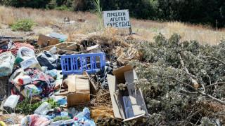 Ένας απέραντος σκουπιδότοπος η Σαλαμίνα