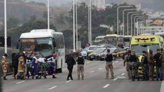 Βραζιλία: Ένοπλος κρατά ομήρους επιβάτες λεωφορείου