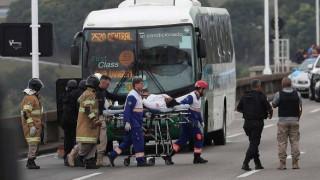 Βραζιλία: Νεκρός από την αστυνομία ο δράστης της ομηρίας λεωφορείου