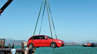 Ναύπλιο: Αυτοκίνητο έπεσε στη θάλασσα - Σώος ο οδηγός