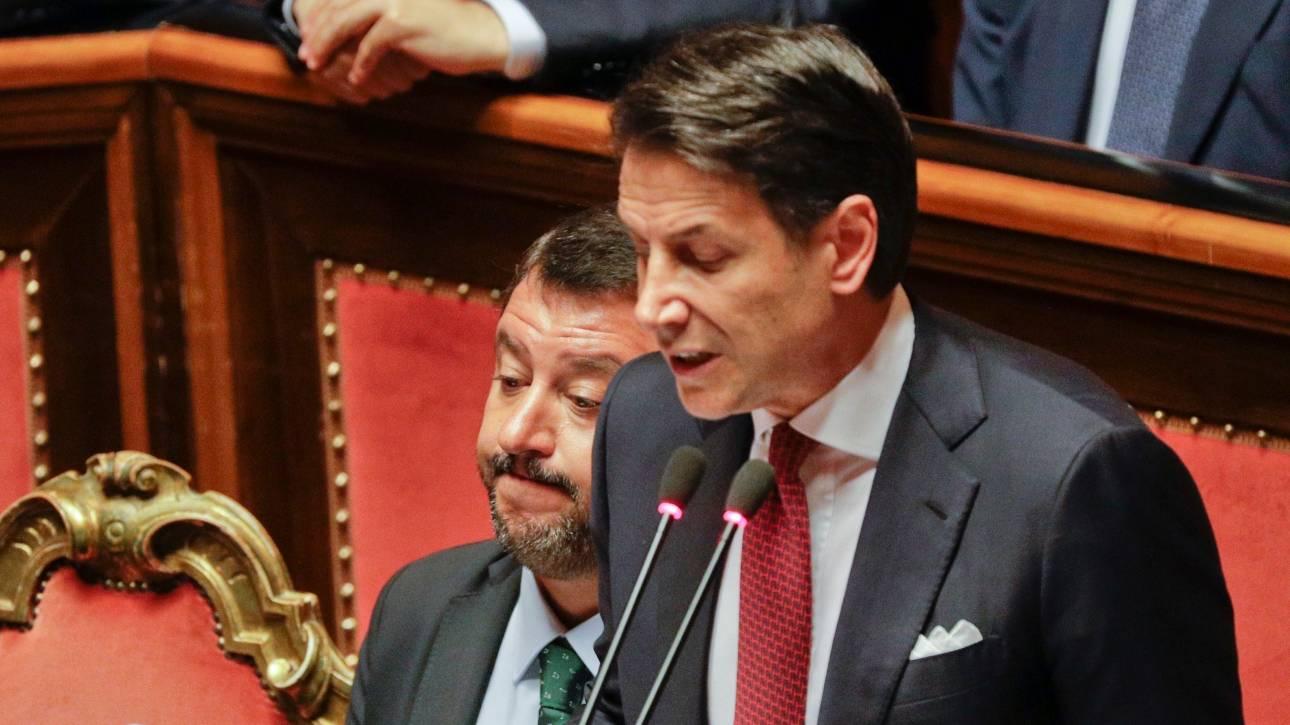 Πολιτική κρίση στην Ιταλία: Παραιτήθηκε ο Τζουζέπε Κόντε