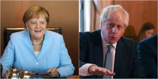 Brexit: Συζητήσεις – ναρκοπέδιο Τζόνσον με Μέρκελ