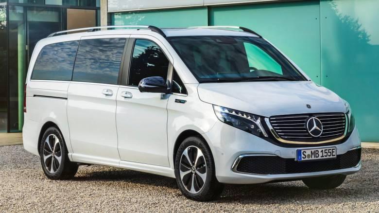 Αυτοκίνητο: H Mercedes EQV είναι το πρώτο ηλεκτρικό πολυμορφικό της πολυτελούς κατηγορίας