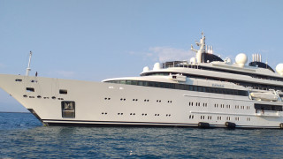 Κέρκυρα: Στο λιμάνι η υπερπολυτελής θαλαμηγός της βασιλικής οικογένειας του Κατάρ