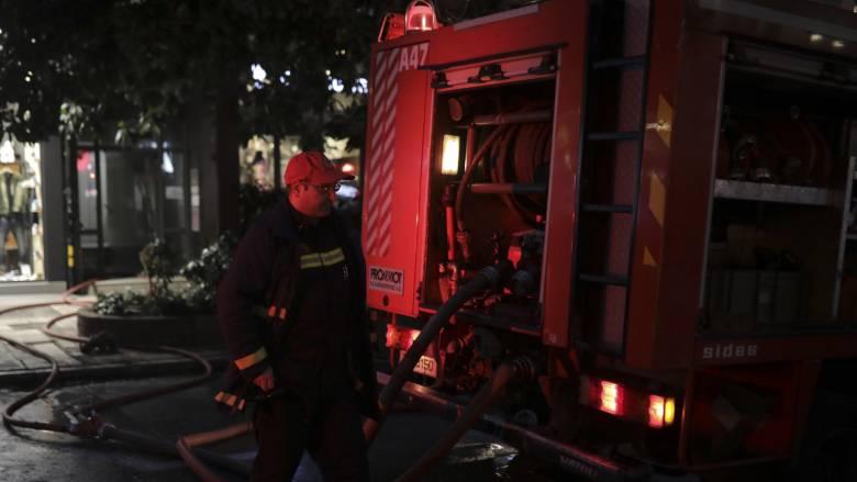 Φωτιά σε σπίτι στο Ηράκλειο τα ξημερώματα - Τραυματίστηκε μία γυναίκα