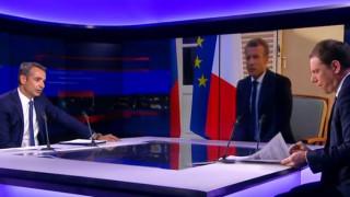 Μητσοτάκης στο France 24: Δεν έχουμε λάβει αίτημα για ελλιμενισμό του Adrian Darya σε ελληνικό λιμάνι