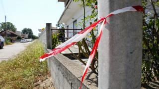 Διπλή δολοφονία Καβάλα: Φωτογραφίες από το σημείο της τραγωδίας