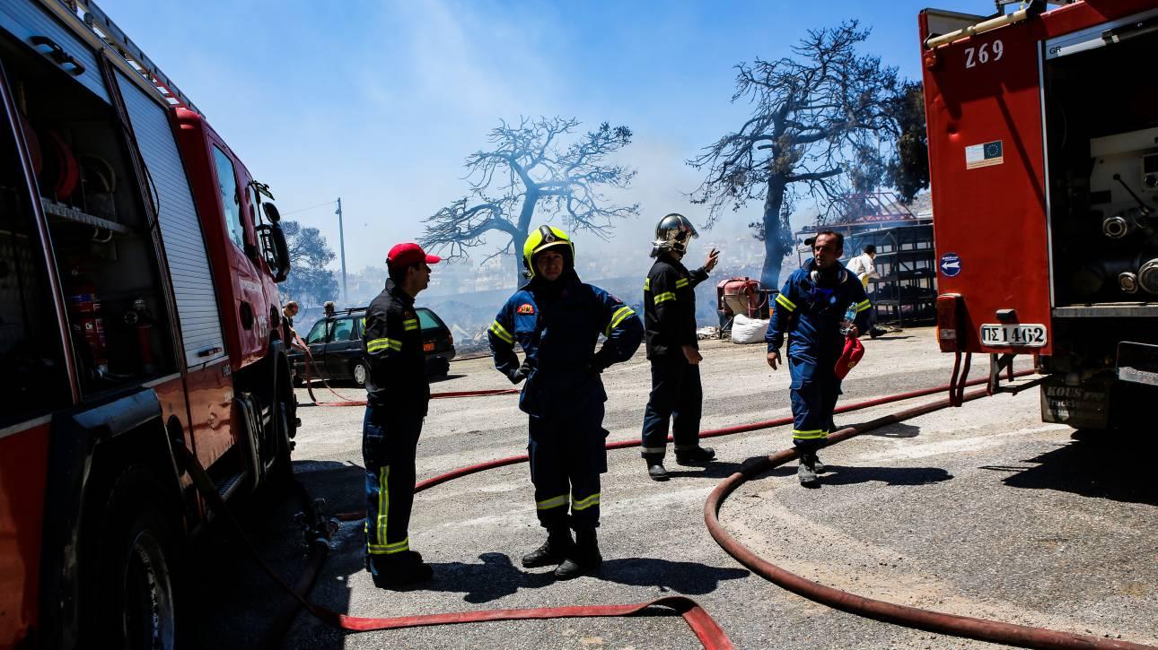 Πολύ υψηλός ο κίνδυνος πυρκαγιάς για το Σάββατο