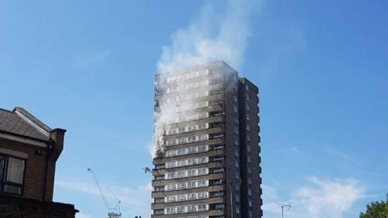 Μνήμες Γκρένφελ από την πυρκαγιά που ξέσπασε στο δυτικό Λονδίνο