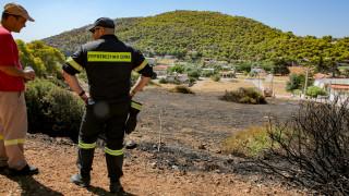 Πυρκαγιά και στη Σαλαμίνα