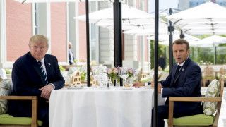 G7: Γεύμα εργασίας για Τραμπ και Μακρόν ενόψει της συνόδου