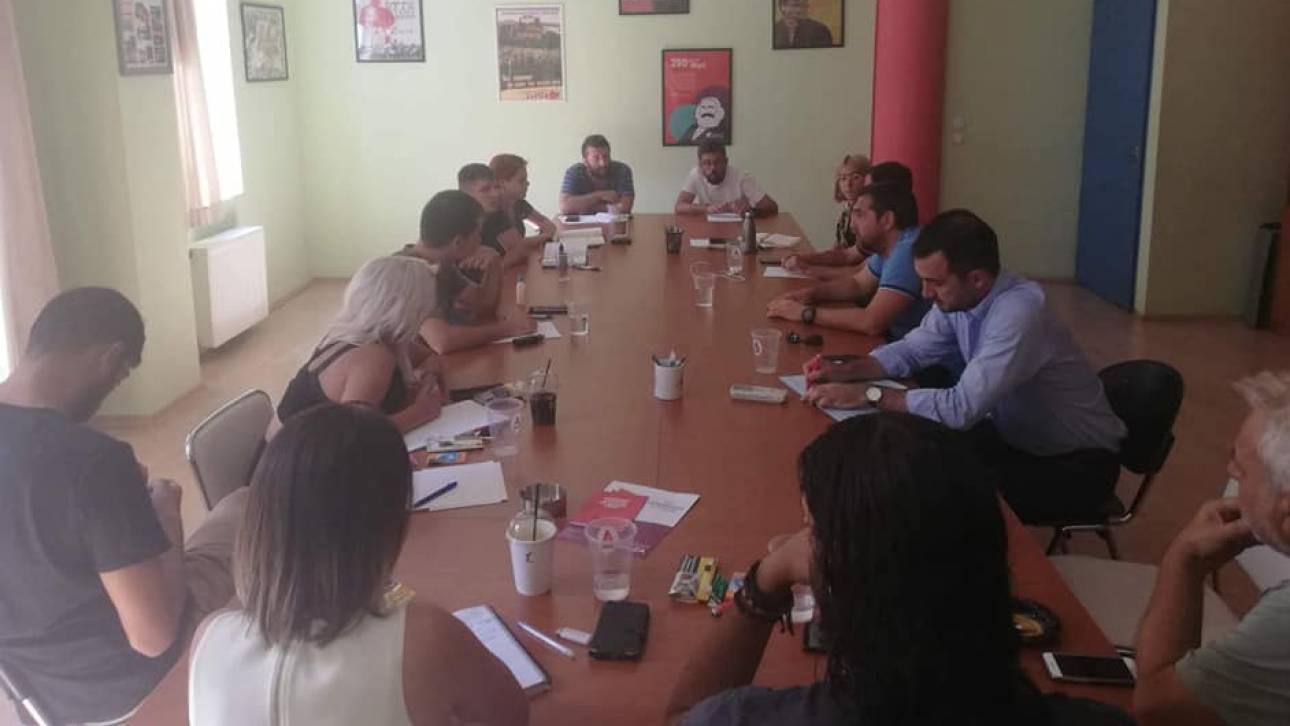 Χωρίς τον Σκουρλέτη η συνάντηση Τσίπρα – Νεολαίας ΣΥΡΙΖΑ