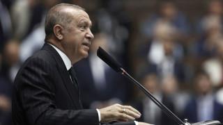 Αμετακίνητος ο Ερντογάν: Θα υπερασπιστούμε τα δικαιώματά μας στην Αν. Μεσόγειο παρά τις απειλές