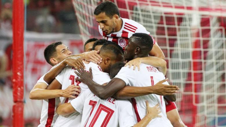 Ολυμπιακός - Αστέρας Τρίπολης 1-0: Η «ερυθρόλευκη» πρεμιέρα σε εικόνες