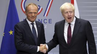 Τζόνσον σε Τουσκ: Brexit στις 31 Οκτωβρίου με ή χωρίς συμφωνία