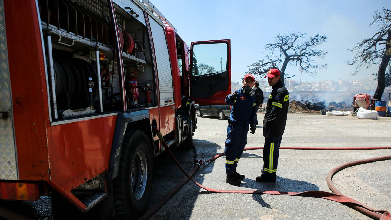 Πυρκαγιά στην Κέρκυρα - Μεγάλη κινητοποίηση της Πυροσβεστικής