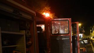 Θεσσαλονίκη: Γυναίκα έπεσε και εγκλωβίστηκε σε φωταγωγό πολυκατοικίας