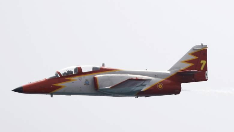 Ισπανία: Συνετρίβη στρατιωτικό αεροσκάφος στη θάλασσα - Άγνωστη η τύχη του πιλότου