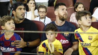 Άναυδος ο Μέσι με το γιο του: Πανηγύρισε γκολ... της Μπέτις