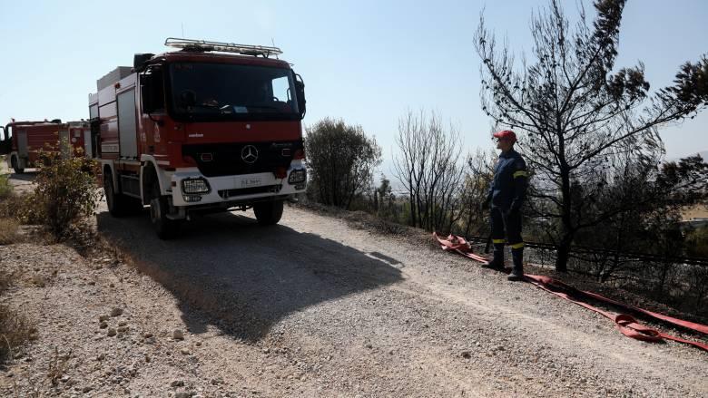 Πολύ υψηλός ο κίνδυνος για πυρκαγιά και την Τετάρτη