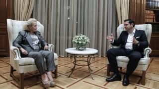 ΝΔ για τη συνάντηση Τσίπρα - Θάνου: Οι μάσκες έπεσαν, επέστρεψε σπίτι της