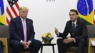 Ανταλλάσσουν φιλοφρονήσεις Τραμπ - Μπολσονάρου στο Twitter για τον Αμαζόνιο